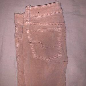 Soft pink jeggings size 0 X Long